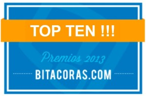 TOP TEN Bitácoras 2013