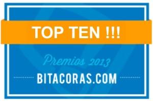TOP TEN Bitácoras 2013