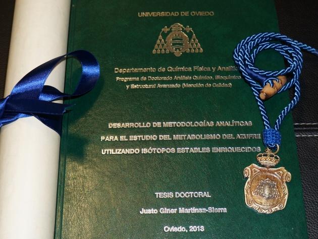 Premio Extraordinario de Tesis Doctoral - Justo Giner