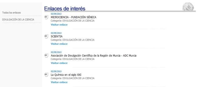 Químicos de Murcia y La Química en el siglo XXI