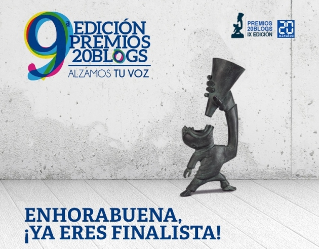 Finalista Premios 20Blogs 2015