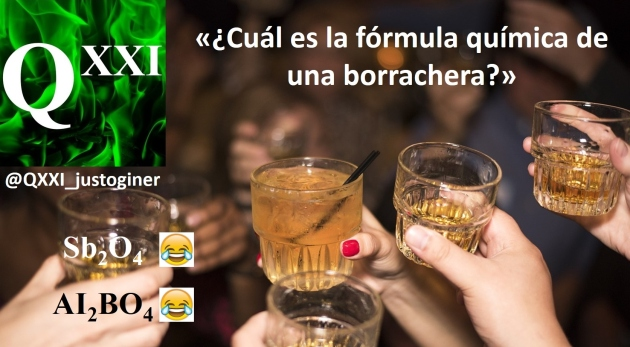 Fórmula Química Borrachera