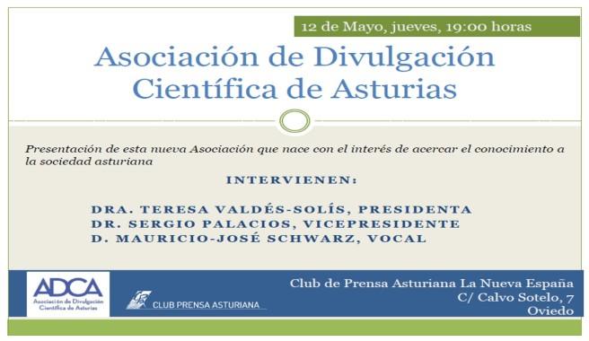 Asociación Divulgación Científica Asturias Justo Giner ADCA